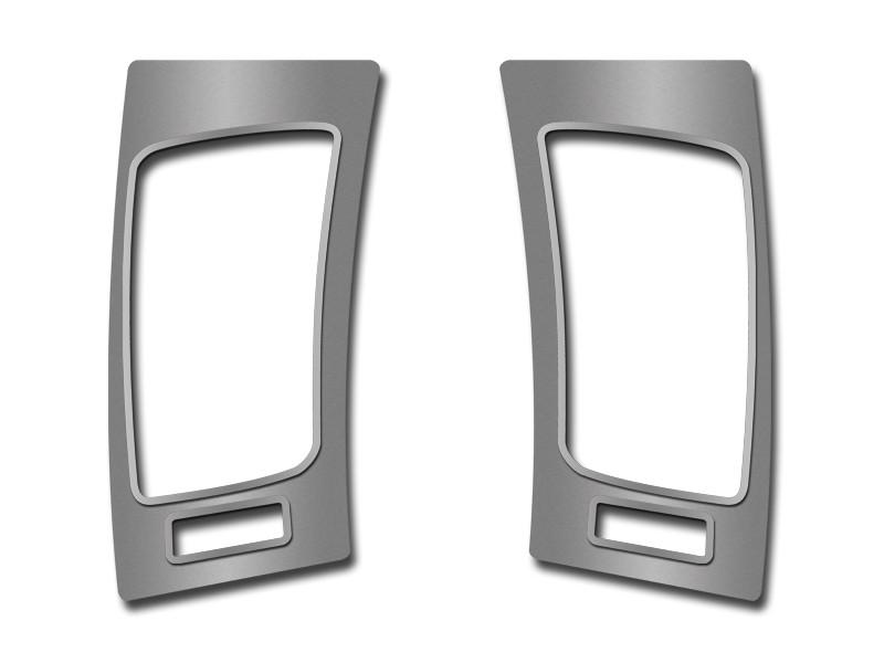 2008-2009 Pontiac GT G8 - A/C Door Vent Trim Plates 2Pc Brushed/Polished American Car Craft