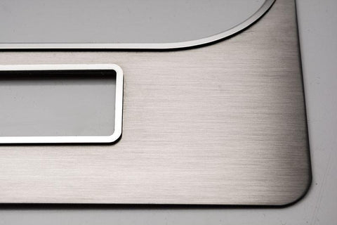 2008-2014 Challenger 5.7 and SRT 8 Brushed Dash Trim Plate American Car Craft
