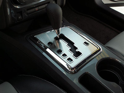 2008-2014 Dodge Challenger 5.7 and SRT 8 Shifter Plate Brushed Auto