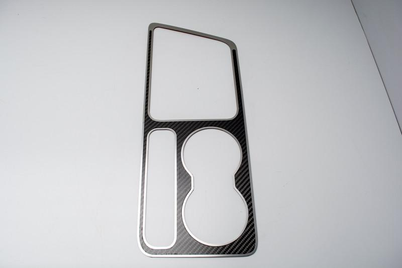 2008-2014 Dodge Challenger Carbon Fiber Outer Shifter Plate Overlay (5.7 & SRT 8) American Car Craft