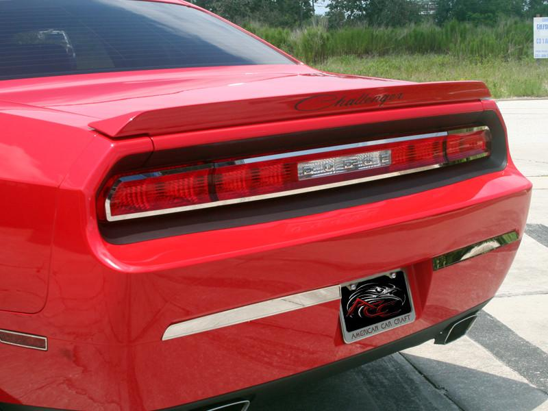 2008-2014 Dodge Challenger - Tail Light Outer Trim Plate American Car Craft
