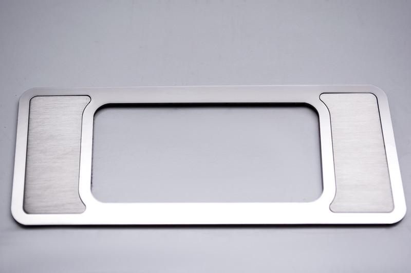 2009-2014 Ford F-150 - Interior Dim Switch Trim Plate Brushed Finish American Car Craft