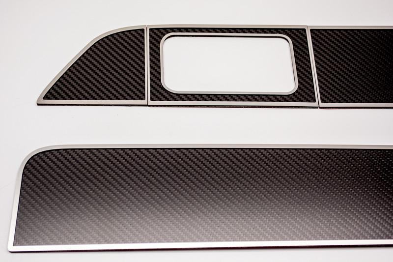 2009-2014 Ford F-150/Raptor - Carbon/Fiberglass Door Panel Inserts | 6pc American Car Craft