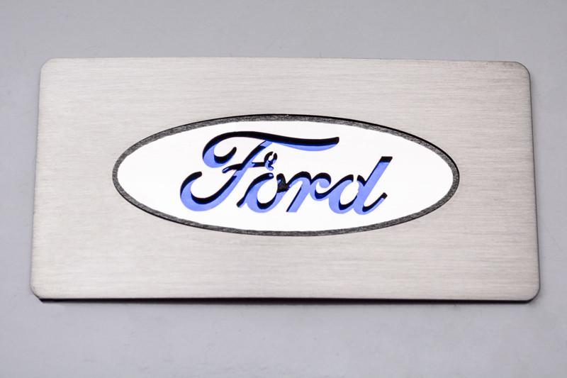 "2009-2014 Raptor ""Ford Logo"" Glove Box Trim American Car Craft"