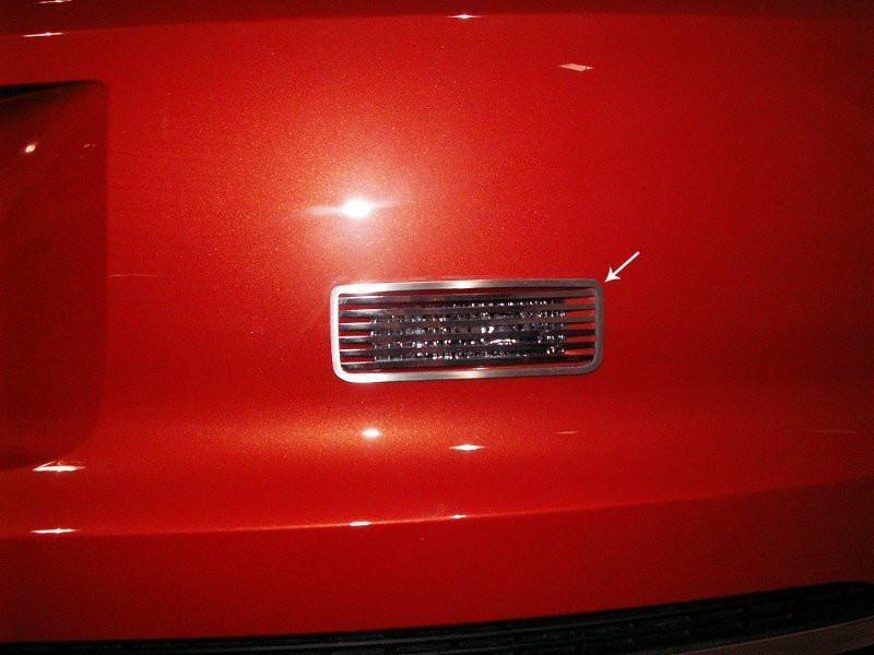 2010-2013 Camaro - Billet Style Reverse Light Overlay Trim American Car Craft