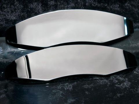 2010-2013 Camaro - Brake Caliper Covers, Polished Stainless Steel