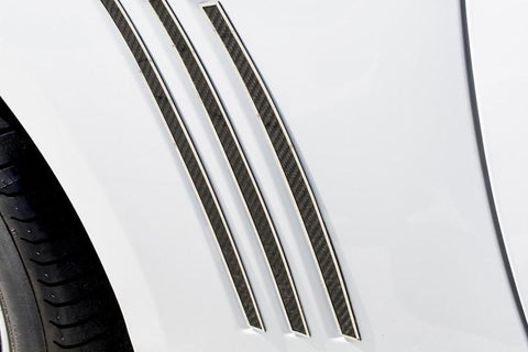 2010-2013 Camaro - Carbon Fiber Side Fender Vent Trim Kit American Car Craft