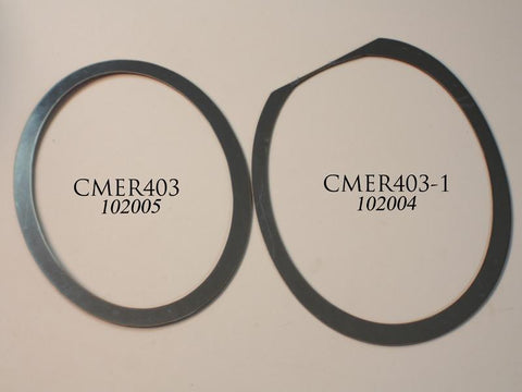 2010-2013 Camaro - Exhaust Trim Rings 2Pc, Cropped Oval Style American Car Craft