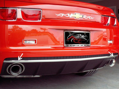 2010-2013 Camaro - Rear Valance Trim in Classic Chrome American Car Craft