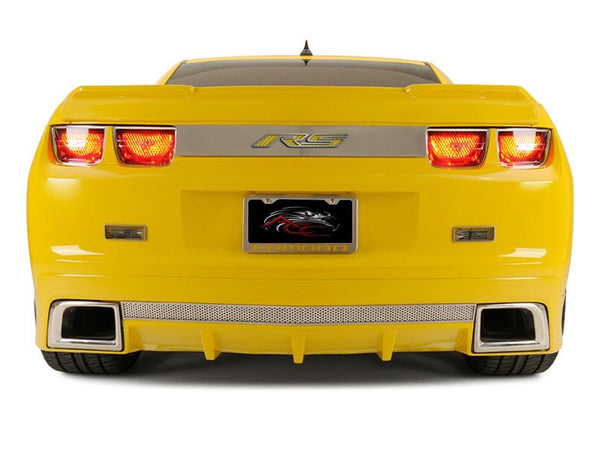 2010 Camaro Rs >> 2010 2013 Camaro Rs Trunk Lid Plate Choose Vinyl Inlay Color