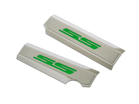 "2010-2013 Chevrolet Camaro - Synergy Green ""SS"" Fuel Rail Covers 