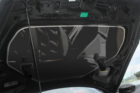 2010-2013 Nissan GT-R - Hood Panel | Carbon Fiber with Stainless Steel Trim