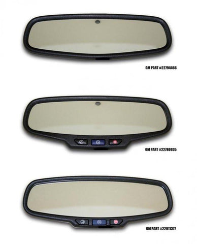 "2010-2014 Camaro - Rear View Mirror Trim ""SS"" Style 