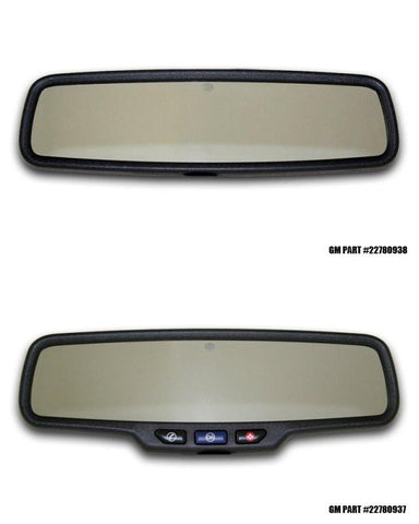"2010-2014 Camaro Rear View Mirror Trim ""Super Sport"" Brushed American Car Craft"
