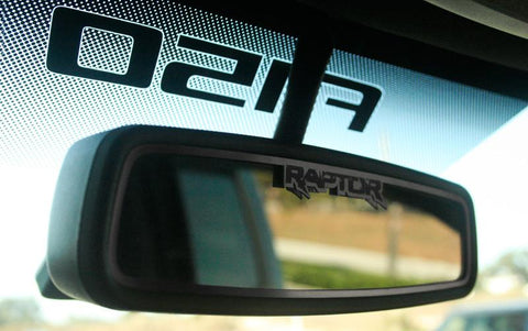 2010-2014 F150/Raptor - Rear View Mirror Trim | Brushed Stainless Steel