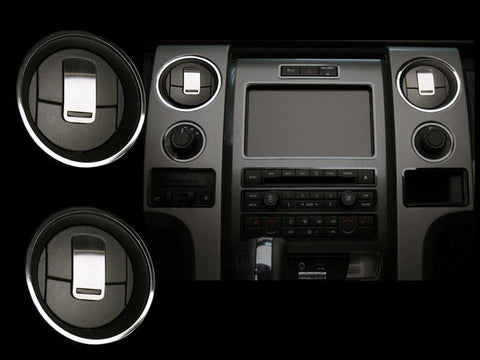 2010 ford f150 dash vents