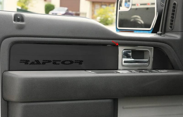 2010 2014 Ford F150 Or Raptor Door Handle Pull Plates