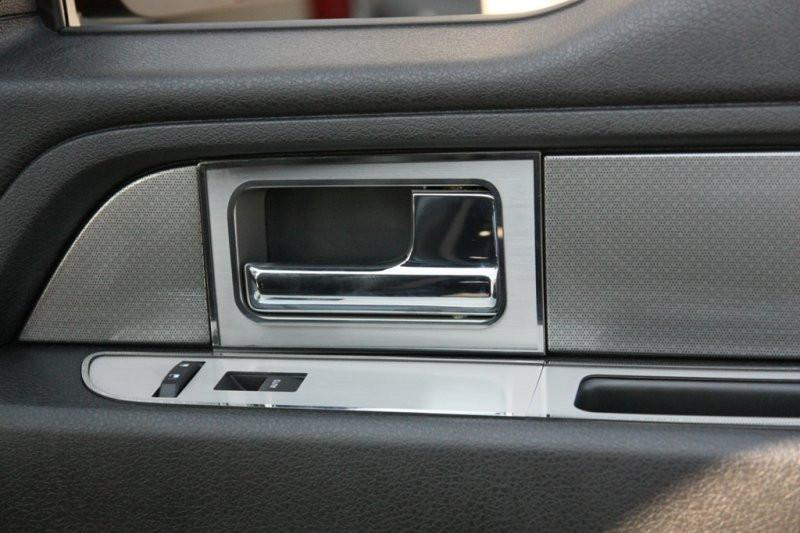 2010-2014 Ford F150/Raptor - Door Handle Pull Plates | 4Pc Polished or Brushed American Car Craft