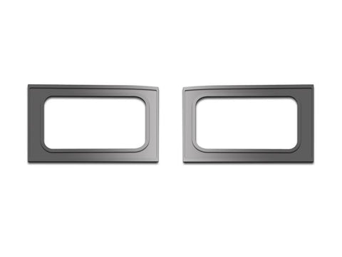 2010-2014 Ford F150/Raptor - Front Door Handle Pull Plates | 2Pc Brushed American Car Craft