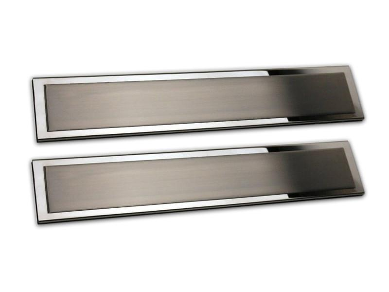 2010-2014 Ford F150/Raptor - Outer Rear Door Sills | 2Pc Brushed/Polished American Car Craft
