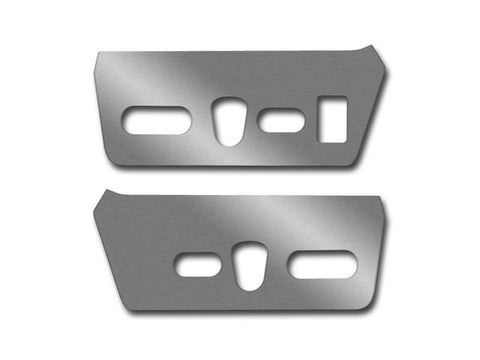 2010-2014 Ford F150/Raptor - Seat Control Side Panels | 2Pc Brushed American Car Craft