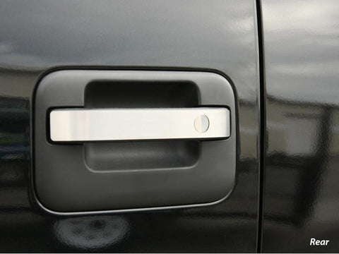 2010-2014 Ford Raptor - Door Handle Pull Plates | Brushed 8Pc