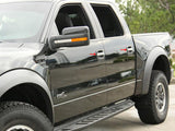 2010-2014 Ford Raptor - Door Handle Pull Plates | Brushed 8Pc American Car Craft