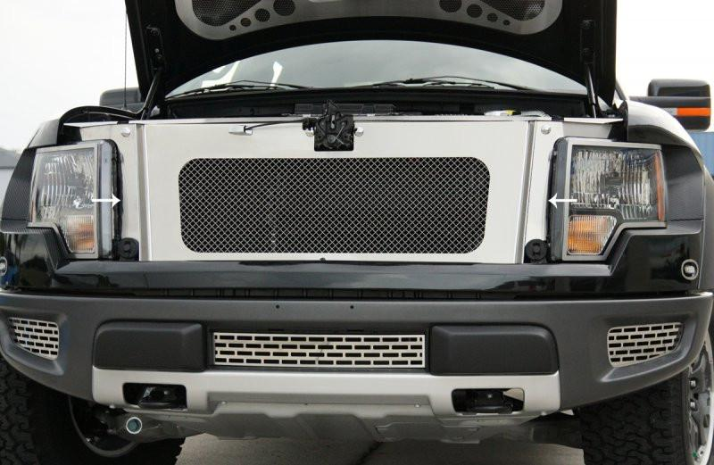 2010-2014 Ford Raptor - Grille Fascia Front Brushed American Car Craft