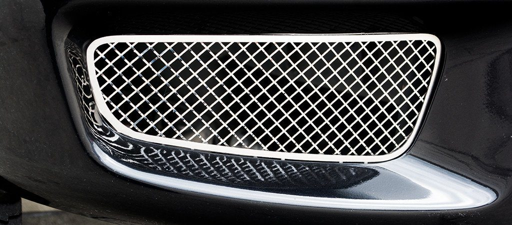 2010-2014 Ford Raptor - Laser Mesh Fog Light Grilles | 2pc outer only American Car Craft