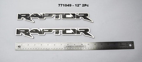 2010-2014 Ford Raptor - Raptor Emblem American Car Craft