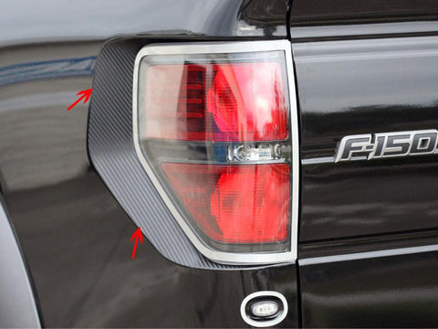 2010-2014 Ford Raptor Taillight Carbon Fiber Wrap 2Pc