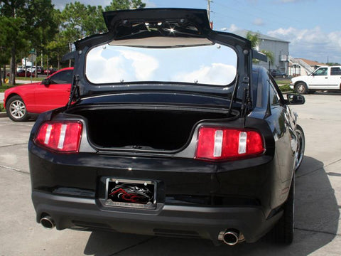 2010-2014 Mustang - Trunk Panel Polished