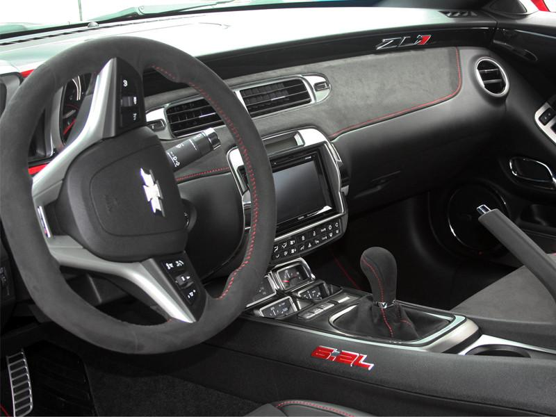 2010-2015 Camaro - Aftermarket Radio Trim Plate, Brushed with Polished Bezel American Car Craft