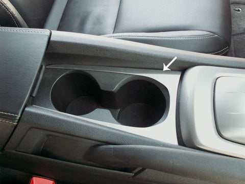 2010-2015 Camaro - Cup Holder Trim Plate, Brushed
