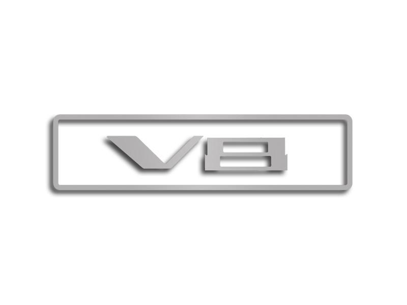 2010-2015 Camaro - Factory Shroud V8 Emblem Trim Kit 3Pc American Car Craft