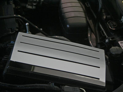2010-2015 Camaro - Fuse Box Polished Top Plate, Stand Alone American Car Craft