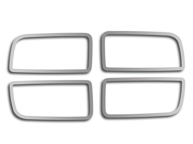 2010-2015 Camaro - Gauge Cluster Trim 4Pc, Polished American Car Craft