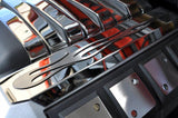 "2010-2015 Camaro Polished Engine Cover Trim ""True Flame"" American Car Craft"