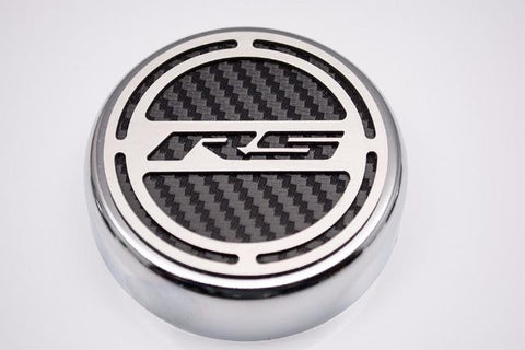 "2010-2015 Camaro V6 - Cap Cover Set ""RS"" Series Automatic 5pc Carbon Fiber CHOOSE COLOR"