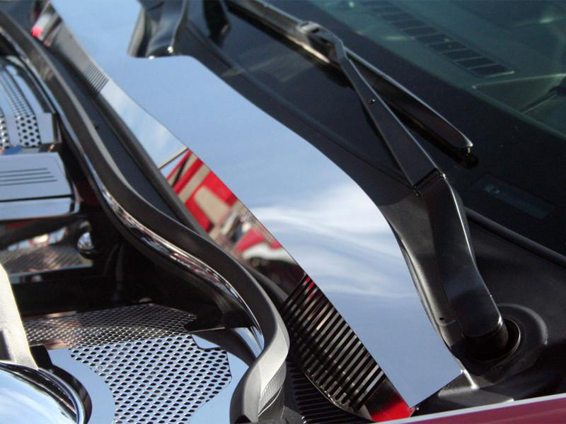 2010-2015 Camaro - Wiper Cowl Polished 4Pc American Car Craft