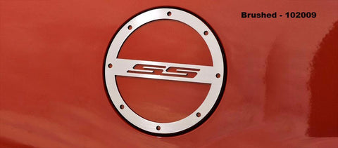 "2010-2019 Camaro - Gas Cap Cover ""SS"" Style 