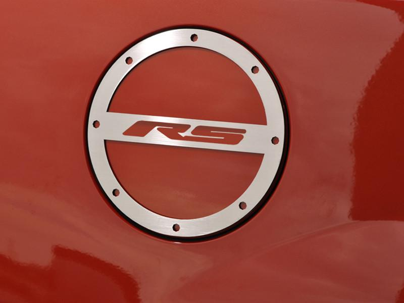 "2010-2018 Camaro Gas Cap Cover ""RS"" Lettering American Car Craft"
