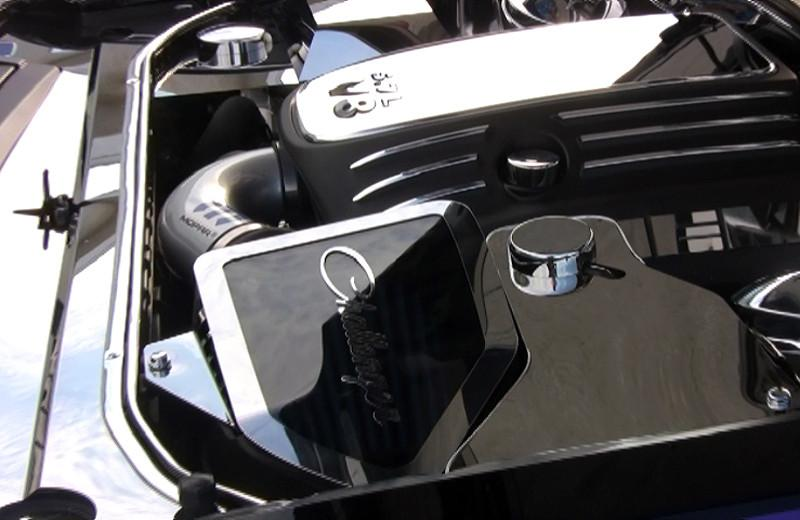 2011-2014 Challenger/Charger/Magnum/300 SRT 8 5.7L/6.4L MOPAR Cold Air Intake Cover Clear/Polished American Car Craft