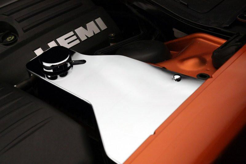 2011-2018 Challenger - Polished Water Tank Cover w/Cap 5.7L/SRT8 6.1L/6.4L American Car Craft