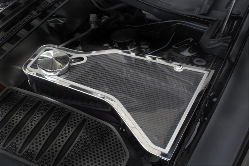 2011-2018 Dodge Challenger 5.7/SRT 8 6.1/6.4L - Carbon Fiber Water Tank Top Cover Plate American Car Craft