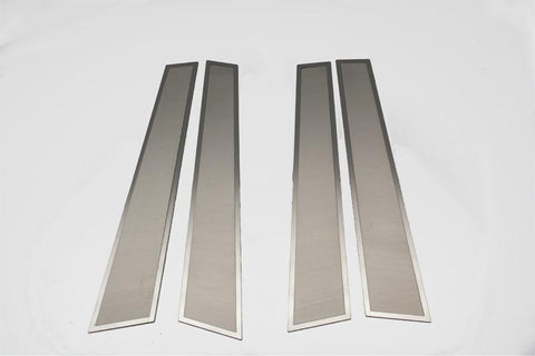 2011-2018 Dodge Charger - Door Pillar Trim Kit 4Pc | Brushed Stainless Steel