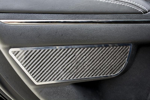 2011-2018 Dodge Charger - Carbon Fiber Rear Door Badges | Carbon Fiber/Stainless Steel