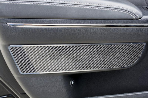 2011-2018 Dodge Charger - Front Door Badges 2Pc | Carbon Fiber & Stainless Steel, Choose Style