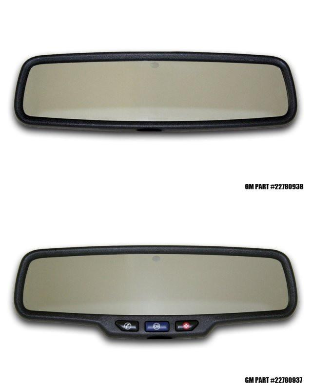 "2012-2013 Camaro - Rear View Mirror Trim ""ZL1"" Style 