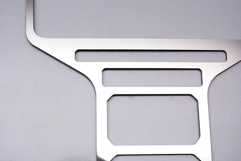 2012-2014 Ford Raptor - Center Dash Trim Choose Polished or Brushed American Car Craft